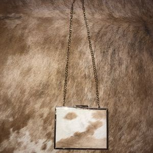 Handbags - ✨ BEAUTIFUL HANDMADE COWHIDE EVENING CLUTCH ✨